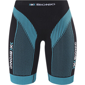 X-Bionic Effektor Running Power Løbeshorts Damer, black/turquoise
